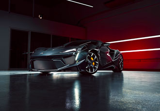 AGM collaborates with duo on W Motors Fenyr SuperSport car