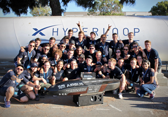 SpaceX Hyperloop challenge gains victory by going 50% faster