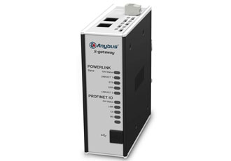 Anybus X-gateways offer connectivity to Ethernet POWERLINK