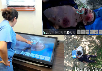 AR tools to help health care workers save lives