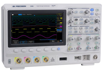 Mixed signal oscilloscopes feature 25MHz function generator
