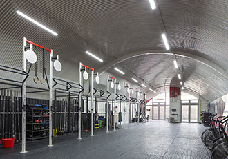 Hybrid gym makes savings with energy efficient LED lighting
