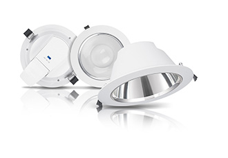 Low glare, energy efficient, easy fit luminaires