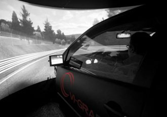 Research development centre chooses static driving simulator