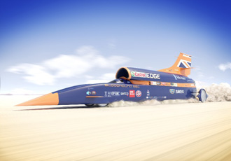 Bloodhound's record attempt in 2019
