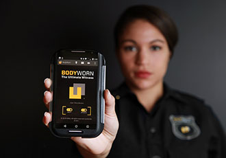 Growing number of European police forces use bodycam