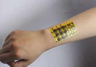 Malleable 'electronic skin' is self-healable and recyclable
