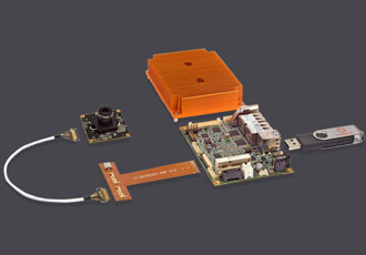 Smart camera kit designed for rugged vision systems