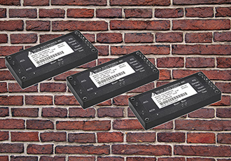 PACSR series of board mounted AC/DC bricks launched
