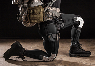 Humanising exoskeletons for soldiers and paraplegics