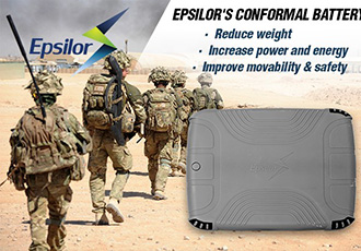 Wearable battery for digital soldier programs at DVD2018