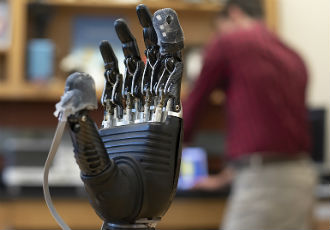 'E-dermis' brings sense of touch and pain to prosthetic hands