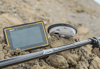 Fully rugged tablet provides highly accurate data collection