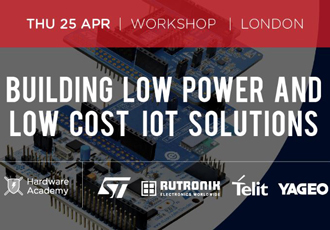 Three hour workshop on building low cost IoT solutions