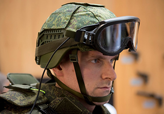 Chameleon helmet to equip the 'soldier of the future' at Army 2018