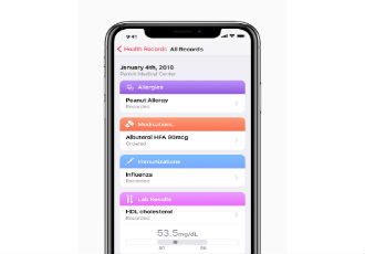 Solution brings health records to iPhone