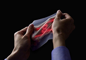 Continuous monitoring with ultraflexible on-skin sensors