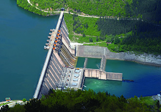Managing and maintaining hydro-electric plants