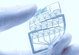 The production processes that go into creating printed electronics