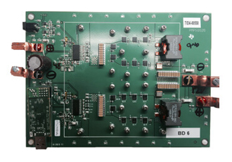 Integrated reference design for automotive bidirectional converter