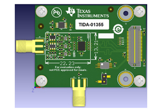Reference design for imaging using time-interleaved SAR ADCs