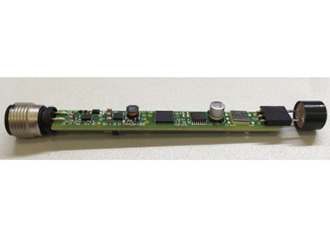 Ultrasonic distance sensor with IO-Link reference design