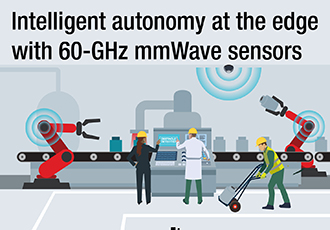 From vehicles to the factory, sensors create a smarter world