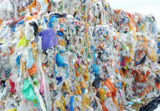 Using waste plastic as material for fuels and plastics