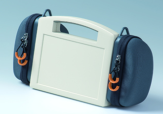 Side bags for portable instrument enclosures