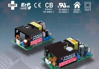 Rugged power supplies in mini open frame package