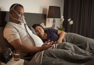 First minimal-contact full face CPAP mask: AirFit F30