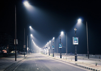 Upgraded streetlights provide better illumination