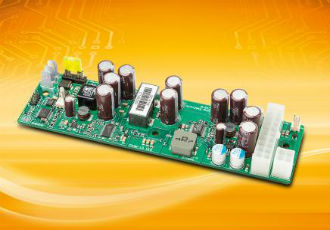 Fanless DC/DC ATX power supply with ultra-wide input range