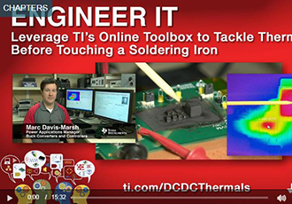 Online toolbox to tackle thermals