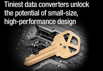 Small data converters deliver high integration and performance
