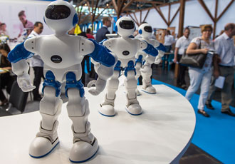 Colleague robots could take over the world of work