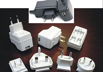 Medical USB wall mount adapters for use in home healthcare