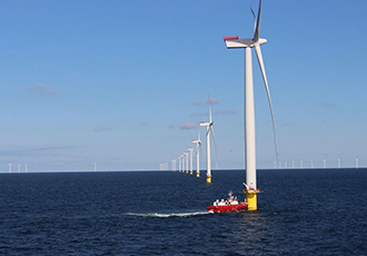 First steps forward for offshore wind farm