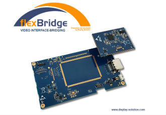 flexBridge HDMI to MIPI-DSI interface-bridging for LCD panels