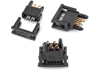 Solderless and direct plug-in connectors