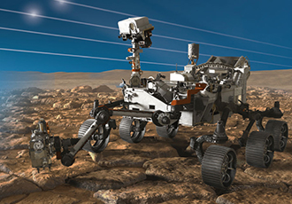 Developing electronics for missions to Mars and Jupiter