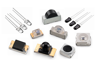 Infrared detector components from a single source