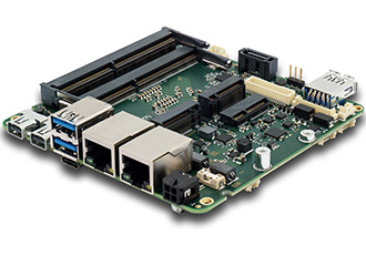 Box PC in the eNUC standard for high-performance applications