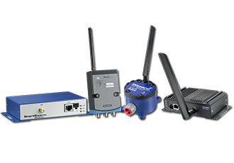 Range of LoRaWAN wireless solutions