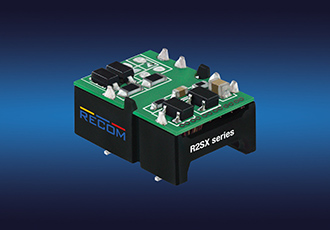Low cost DC/DC converters in open-frame SMD