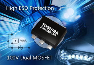 Small MOSFET designed for automotive headlight applications