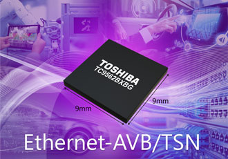 Ethernet bridge IC for automotive and industrial applications