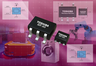 Design simplifies layout in voltage-level translation applications