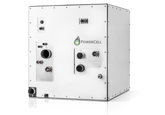 Fuel cell system designed for electrification on land and at sea