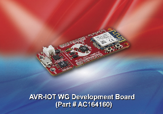 Win an AVR-IoT WG Development Board from Microchip